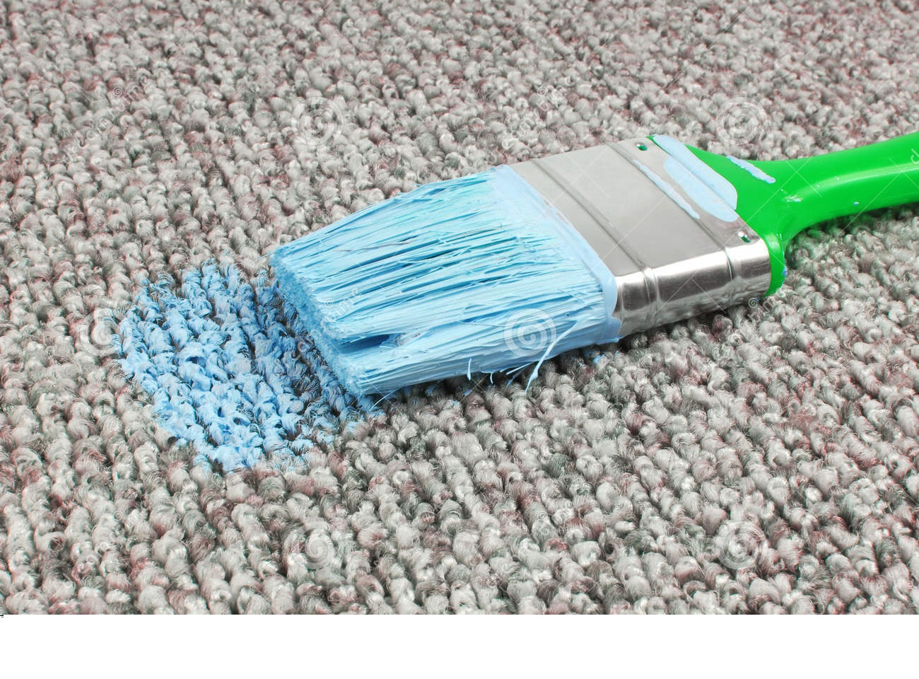 Helpful Tips in Removing Paint from your Precious Carpet