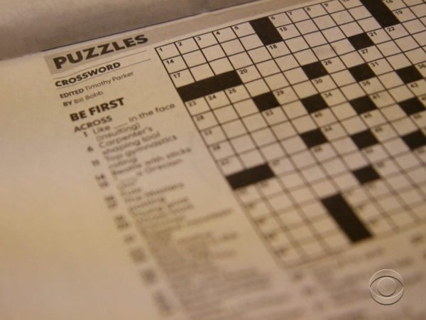 Top Benefits of playing crossword puzzle