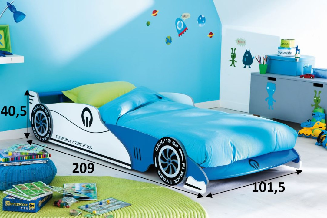 Does Your Little Kiddo Love Cars? Make Sure You Get Him These Car Beds!