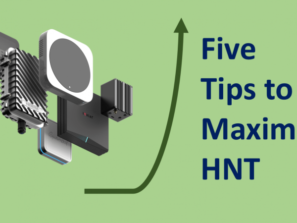 How to Maximize the HNT Earnings from Helium Hotspot?